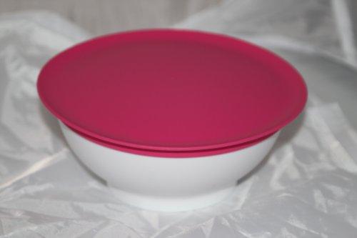 Tupperware Allegra Servierschale Schüssel mit Deckel Passion pink 275ml