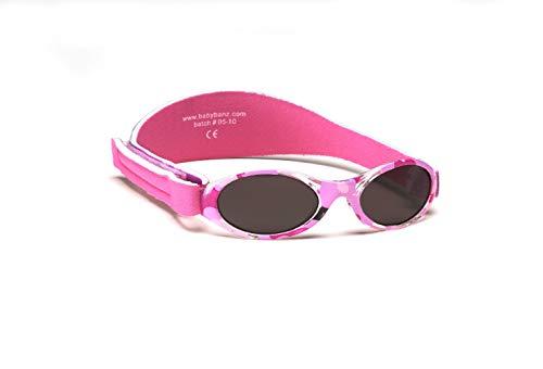 BABYBANZ Babysonnenbrille - PURPLE Adventure BB005 Unisex - Baby Babybekleidung Sonnenbrillen, Gr. (0-2 Jahre), Violett