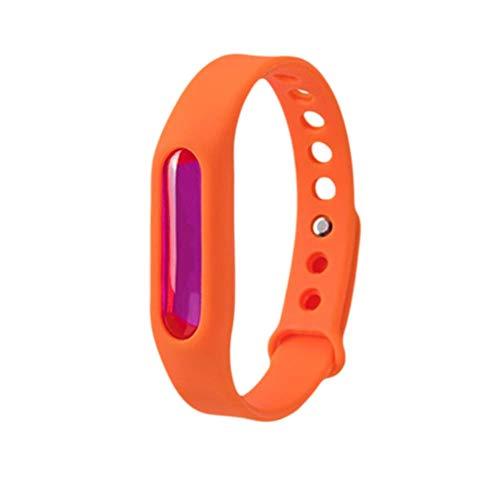90 Flüssig-kapseln (Rubyu 5PCS Mückenarmband, Anti Mosquito Bracelet Reusable Repellent Wristband Armband, mit 100 Natürliches Pflanzenöl, für Camping, Jogging, Wandern)