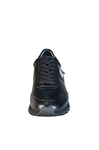 Versus Lion Runner Ii Homme Baskets Mode Noir Noir