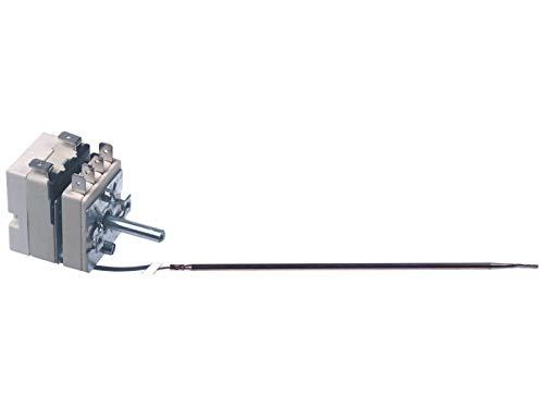 Thermostat : 55.13664.060 Blue Seal, thermostat de four : interrupteur auxiliaire unipolaire 50 C - 320 C, capteur 3 mm x 160 mm, longueur capillaire 1430 mm : EGO 55.13664.060.