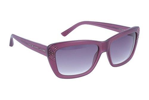 c5808533437c7b Marc By Marc Jacobs Femmes 258 Lilac Frame Gris Gradient Lens Plastic lunettes  de soleil