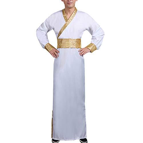 Daytwork Herren Cosplay Kostüm Hanfu - Kleidung Chinese Traditional Uralt Minister Klassik Tang Anzüge Performances Dynastie Lange - Herr China National Kostüm