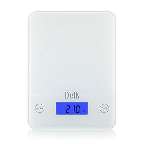 DEIK-KDS02 La Bilancia digitale per i cibi/Cucinare,in vetro