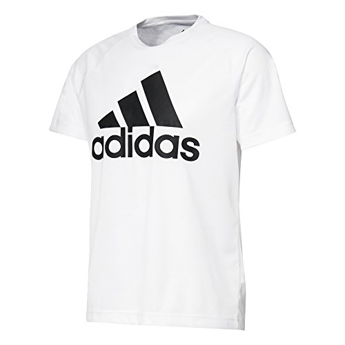 adidas Herren Design 2 Move Logo T-Shirt, White, 2XL -