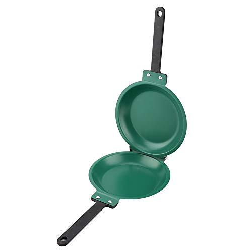 Sartén de doble cara Sartén antiadherente Sartén con revestimiento de cerámica Fabricante de panqueques para utensilios de cocina para el hogar