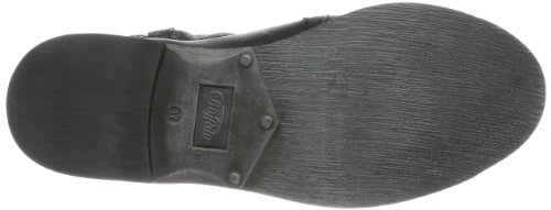 Buffalo London - Es 30238 Garda Suede, Stivali da Motociclista Donna Nero (Preto)