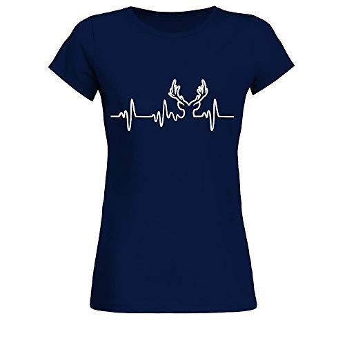 Jäger Shirt · Jagd-Bekleidung · Geschenkidee für Jäger und Förster · aufgedruckt Frauen T-Shirt