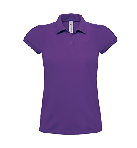 Poloshirt Donna Polo Shirt taglio femminile Purple