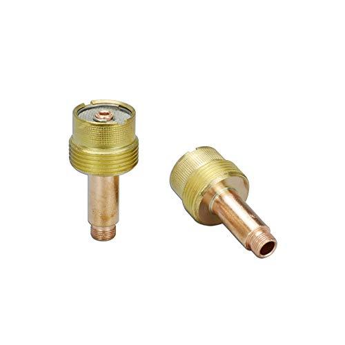 995795 1/8'' Grand diamètre TIG Gaz Lens Collet crops SR WP 17 18 26 Torche de Soudage Tig 2pk