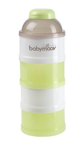 Babymoov A004207 - Dosatore da Viaggio per latte in polvere, Impilabile
