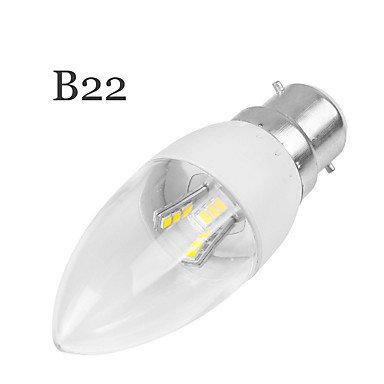 FDH 5W E14/E27Velas LED Empotrables luces Retrofit 18 LED SMD2835 350-400 lm decorativos 85-265 V CA 1pcs,E22