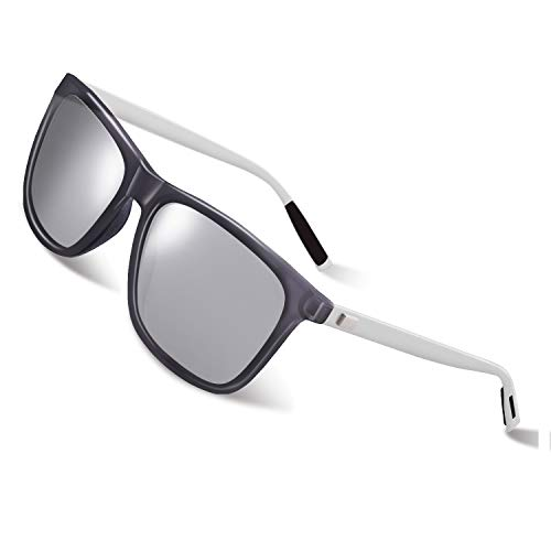 GQUEEN Gafas sol polarizadas Clásico Retro Hombre