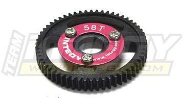 Integy RC Model Hop-ups T3657 58T Steel Spur Gear for T-Maxx3.3 & Jato