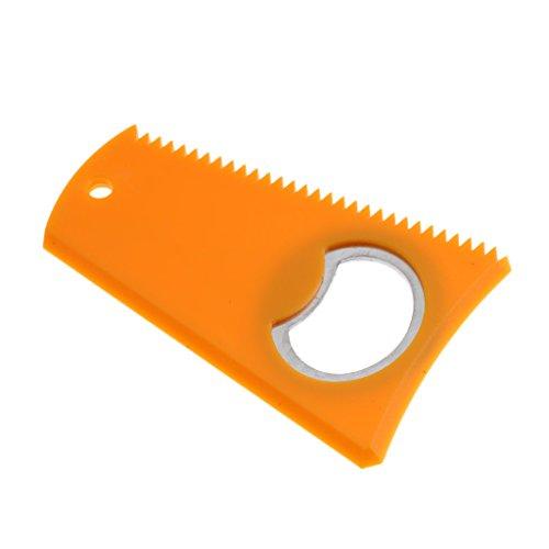 Baoblaze Surf Accessories Wax Kamm Remover - Gelb