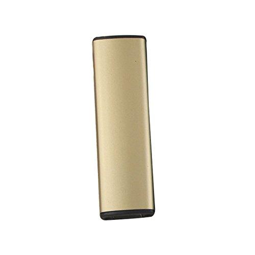 Preisvergleich Produktbild Tiptiper Elektronische Feuerzeug, USB-Ladegerät Zigarettenanzünder lange Akkulaufzeit Kein Gas flammenlose mit USB-Ladekabel