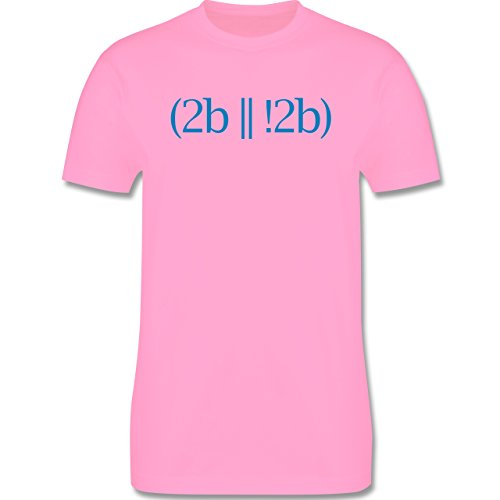 Programmierer - To be or not to be - Herren Premium T-Shirt Rosa