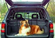 KFZ Auto Schutzgitter Hundeschutzgitter 90 - 140cm x 65 - 110cm #57008