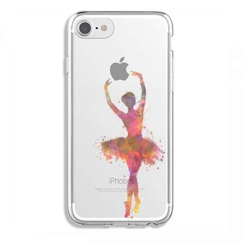 Cokitec Coque Transparente Iphone 6 / 6s Danseuse Etoile