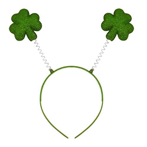 Yumimi88 St. Patrick's Day Grünes Irisches Stirnband-Festival Für Erwachsene St Patrick Day Leprechaun Saint Patricks Day Haarschmuck Mädchen - Saint Kostüm Für Erwachsene