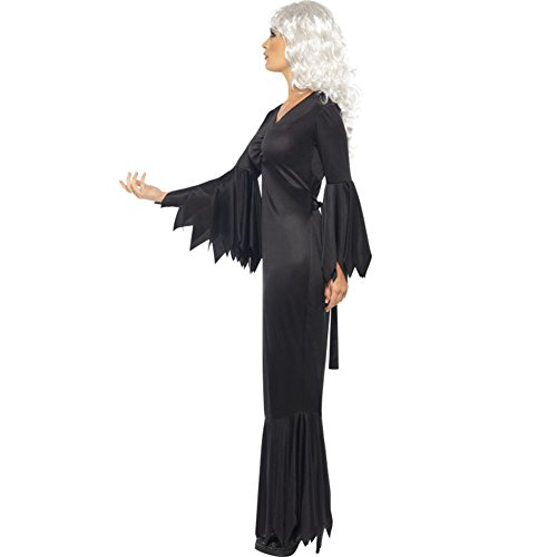 Sijux Halloween Costumes fantôme Festival horreur fantôme Performance du Parti Femmes Cosplay Costumes Robe, Noir,S