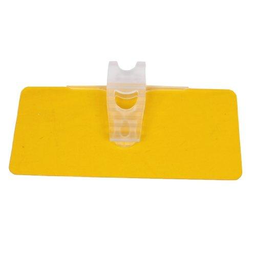 DealMux 30cm x 13cm orange Kunststoff-Auto-Fenster-Windschutzscheiben-Farbton-Masken