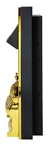 31uWHyFUD6L - Adam Blenheim Electric Inset Fire, 2000 W, Brass