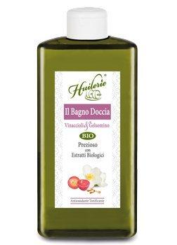 Huilerie vinaccioli & Jasmin bagnodoccia précieux 400 ml
