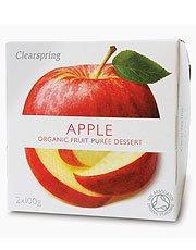 Apple Clearspring Purée de fruits 2 x 100g