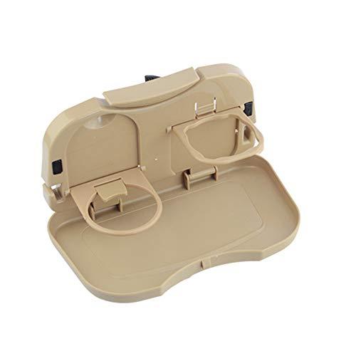 CXD Auto Faltbarer Esstisch, Multifunktions tragbarer klappbarer Esstisch, Speisehaken am Autositz Tablett Tablett passt für die meisten Fahrzeuge -