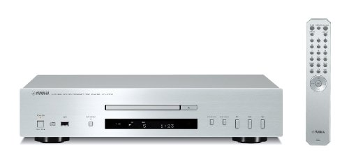 Yamaha CD-S 700 Natural Sound HiFi CD-Player (USB, MP3/WMA) silber