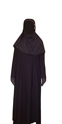Preisvergleich Produktbild Desert Dress - Damen Jilbab Abaya Hijab Islam Niqab Kleid Arabisch Saudi Betender Bekleidung