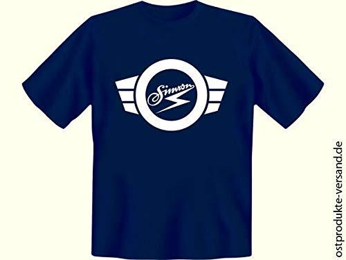 Tshirt Simson dunkelblau   DDR Waren   DDR Traditionsprodukte   Ostalgie