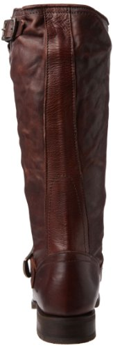 Frye Veronica Slouch, Bottes femme Dark Brown Soft Vintage Leather-76602