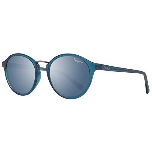 Pepe Jeans Damen PJ7291C350 Sonnenbrille, Blau (Blue), 50