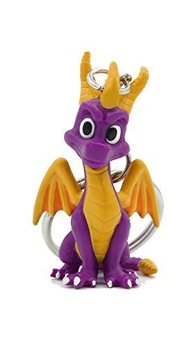 Koch Media Spyro 3D Llavero, 6 cm, Morado