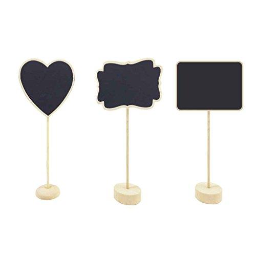 olz Mini Chalkboards Balckboard Tabelle Nachricht Zeichen Für Hochzeit (Tafel-hochzeits-zeichen)