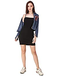 L.F Designer One Piece Knitted Dress with Sequin Denim jacket For Girl's and Women's