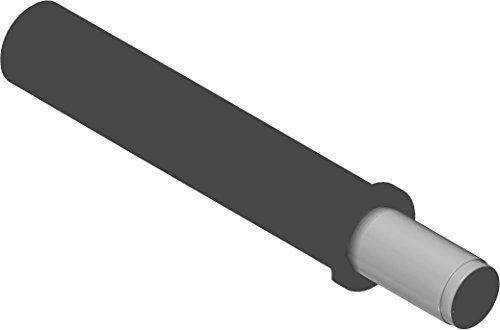 GedoTec® PROFI Türdämpfer 970.1002 BLUMOTION Tür-Puffer | Möbeldämpfer Anschlag an der Griffseite | Türanschlag-dämpfer zum Einbohren | Kunststoff staubgrau | Markenqualität für Ihren Wohnbereich