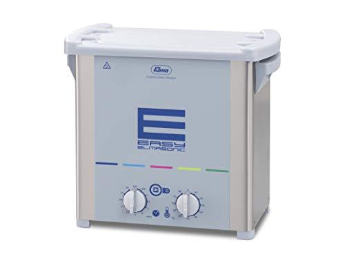 Elmasonic Easy 40 H Ultraschallreinigungsgerät mit einfacher Bedienung 4 Liter 37 kHz 230 V made in Germany zum Reinigen von Schmuck, Uhrenteile, Abdrucklöffel, Brillen, Metallteile, Laborinstrumente