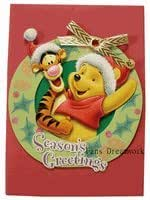 Disney Greeting Cards - Winnie The Pooh & Tigger Christmas Card