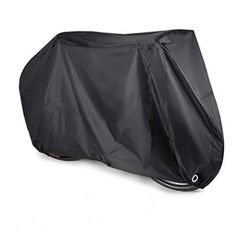 OA-Cover Copertura Protettiva Coperture per Mobili, Abbigliamento Moto Copertura per Bicicletta Impermeabile E Anti-Neve Copri Moto Nero, Adatto per Biciclette, Motocicli,Black,265 * 105 * 125Cm