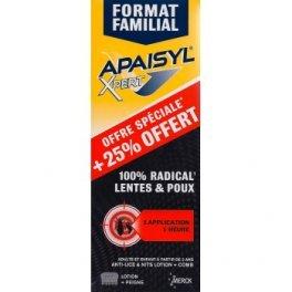 Apaisyl Xpert 100% Radical Lentes et Poux 250 ml