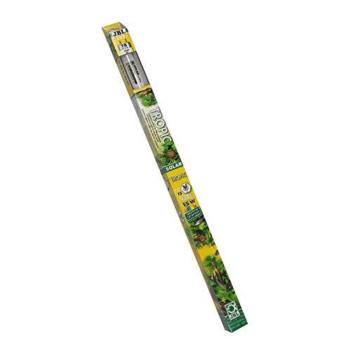 JBL Solar Tropic T8 61610 Solar-Leuchtstoffröhre, Sonnenlichtröhre für Aquarienpflanzen, 15 W