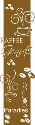 Graz Design Wandtattoo für Dekoration von Porte de Küche Motive Wickeln Thema Kaffee Sprüche auf dem gleichen Thema