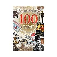 100 Birthday Card 1919 Year You were Born Male Year Facts Inside Card