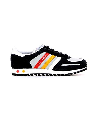 adidas La trainer k, Jungen Sneaker Schwarz - Noir, gris, rouge et orange