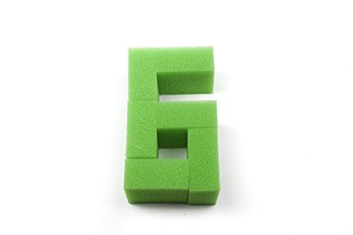 Genérico - Esponja de filtrado nitrato, estera de filtrado - Juwel Compact / BioFlow 3.0 Filters(6 unidades)