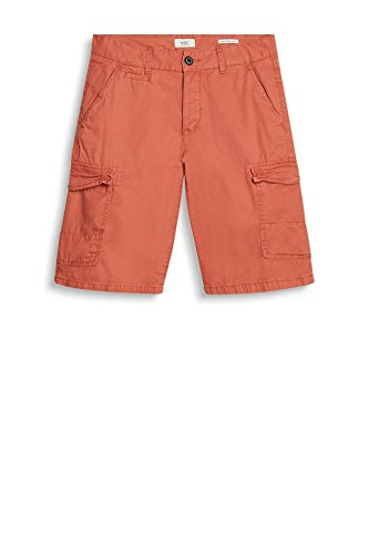 edc by ESPRIT Herren Shorts Rot (Red 630)