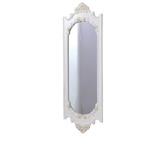 piegel In Voller Länge, Groß Elegant Gerahmt Wand-Spiegel mit Holz Umrahmt Kosmetikspiegel Für Den Ankleidetisch Eingang Schlafzimmer Or Bad ()